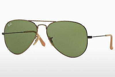 Sonnenbrille Ray-Ban AVIATOR LARGE METAL (RB3025 177/4E) - Gold