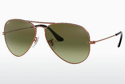 Sonnenbrille Ray-Ban AVIATOR LARGE METAL (RB3025 9002A6) - Braun