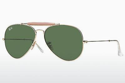 Sonnenbrille Ray-Ban OUTDOORSMAN II (RB3029 L2112) - Gold