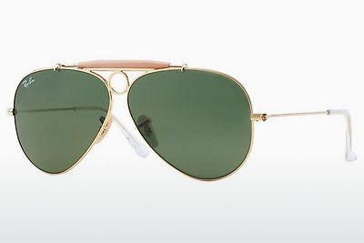Sonnenbrille Ray-Ban SHOOTER (RB3138 001) - Gold