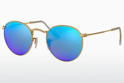 Sonnenbrille Ray-Ban ROUND METAL (RB3447 112/4L) - Gold