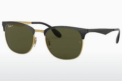 Sonnenbrille Ray-Ban RB3538 187/9A - Schwarz, Gold