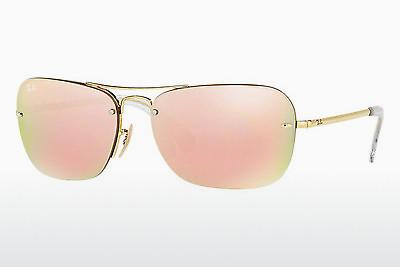 Sonnenbrille Ray-Ban RB3541 001/2Y - Gold