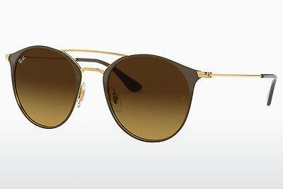 Sonnenbrille Ray-Ban RB3546 900985 - Gold, Braun