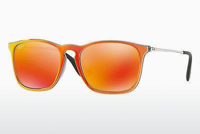 Sonnenbrille Ray-Ban CHRIS (RB4187 63206Q) - Grau, Orange