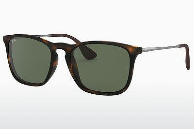 Sonnenbrille Ray-Ban CHRIS (RB4187 710/71) - Braun, Havanna