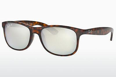 Sonnenbrille Ray-Ban ANDY (RB4202 710/Y4) - Braun, Havanna