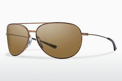 Sonnenbrille Smith ROCKFORD SLIM 4YO/F1 - Braun, Sand