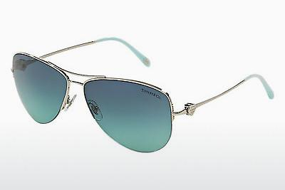 Sonnenbrille Tiffany TF3021 57 (TF3021 60029S) - Silber