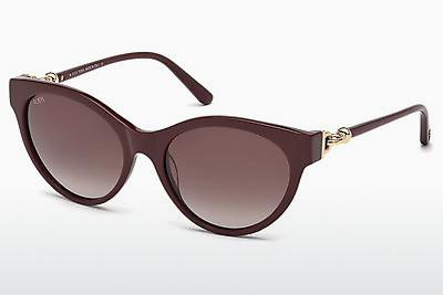Sonnenbrille Tod's TO0154 69Z - Burgund, Bordeaux, Shiny
