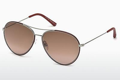 Sonnenbrille Tod's TO0155 69Z - Burgund, Bordeaux, Shiny