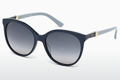 Sonnenbrille Tod's TO0174 90W - Blau, Shiny