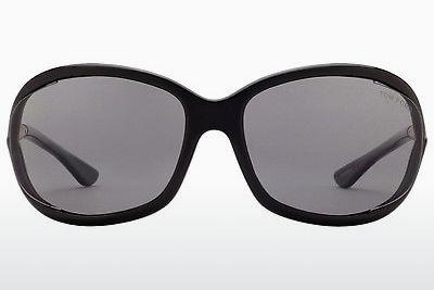 Sonnenbrille Tom Ford Jennifer (FT0008 01D) - Schwarz