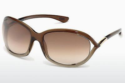 Sonnenbrille Tom Ford Jennifer (FT0008 38F) - Bronze