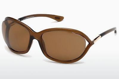 Sonnenbrille Tom Ford Jennifer (FT0008 48H) - Braun