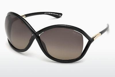 Sonnenbrille Tom Ford Whitney (FT0009 01D) - Schwarz