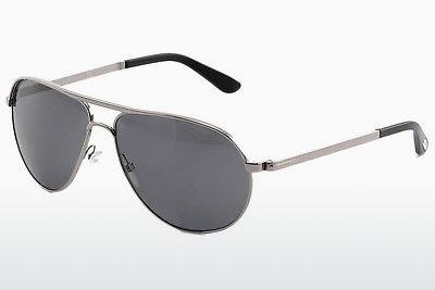 Sonnenbrille Tom Ford Marko (FT0144 14D) - Grau, Shiny, Bright