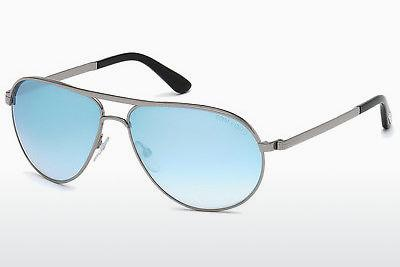 Sonnenbrille Tom Ford Marko (FT0144 14X) - Grau, Shiny, Bright