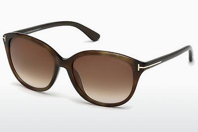 Sonnenbrille Tom Ford Karmen (FT0329 50P) - Braun, Dark