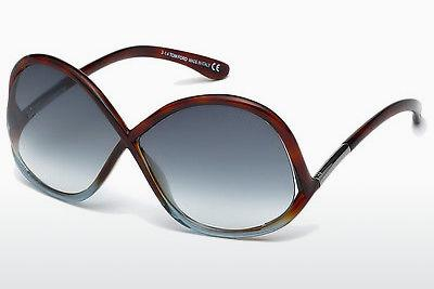 Sonnenbrille Tom Ford Ivanna (FT0372 53W) - Havanna, Yellow, Blond, Brown