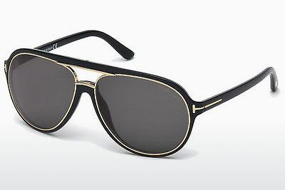 Sonnenbrille Tom Ford Sergio (FT0379 01A) - Schwarz, Shiny