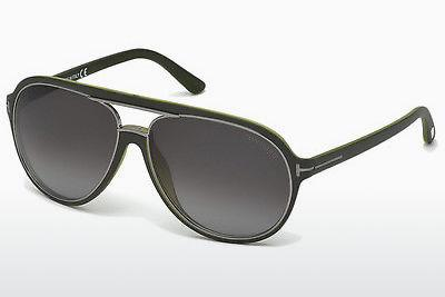 Sonnenbrille Tom Ford Sergio (FT0379 98B) - Grün, Dark