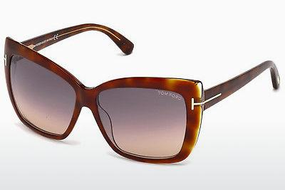 Sonnenbrille Tom Ford Irina (FT0390 53F) - Havanna, Yellow, Blond, Brown