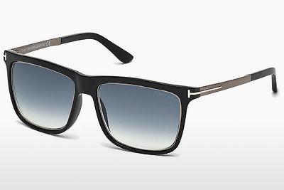 Sonnenbrille Tom Ford Karlie (FT0392 02W) - Schwarz, Matt