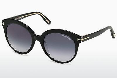 Sonnenbrille Tom Ford Monica (FT0429 03W) - Schwarz, Transparent