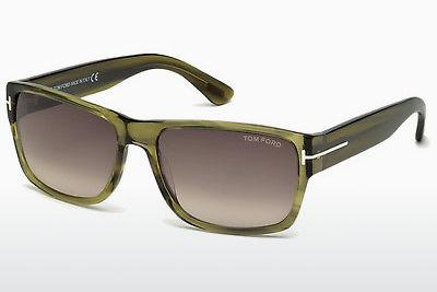 Sonnenbrille Tom Ford Mason (FT0445 95K) - Grün, Bright