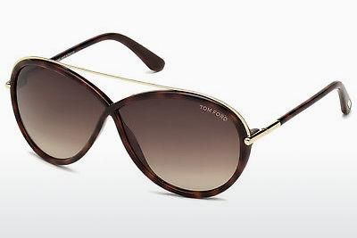 Sonnenbrille Tom Ford Tamara (FT0454 52K) - Braun, Dark, Havana