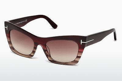 Sonnenbrille Tom Ford Kasia (FT0459 71F) - Burgund, Bordeaux
