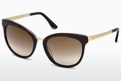 Sonnenbrille Tom Ford FT0461 52G - Braun, Dark, Havana