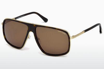 Sonnenbrille Tom Ford FT0463 52K - Braun, Dark, Havana