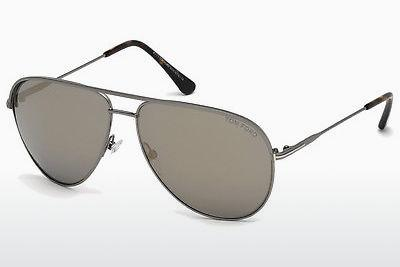 Sonnenbrille Tom Ford FT0466 13C - Grau, Dark, Matt