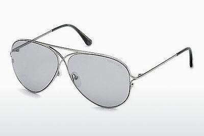 Sonnenbrille Tom Ford Tom N.4 (FT0488-P 14C) - Grau, Shiny, Bright