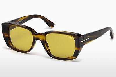 Sonnenbrille Tom Ford FT0492 41E - Gelb