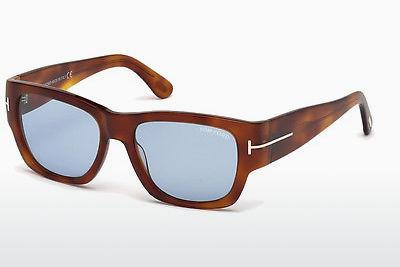 Sonnenbrille Tom Ford FT0493 53V - Havanna, Yellow, Blond, Brown
