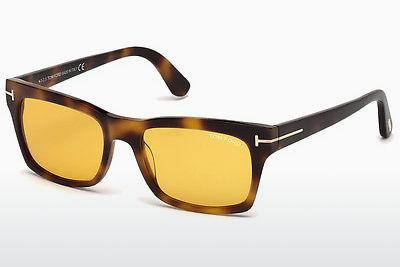 Sonnenbrille Tom Ford Frederik (FT0494 52E) - Braun, Dark, Havana