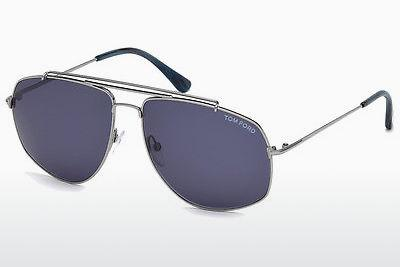Sonnenbrille Tom Ford Georges (FT0496 14V) - Grau, Shiny, Bright