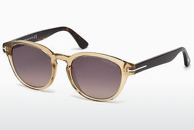 Sonnenbrille Tom Ford Von Bulow (FT0521 39B) - Gelb, Shiny