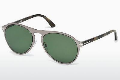 Sonnenbrille Tom Ford Bradburry (FT0525 14N) - Grau, Shiny, Bright