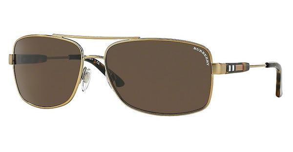 Burberry BE3074 116773 BROWNBRUSHED BURBERRY GOLD