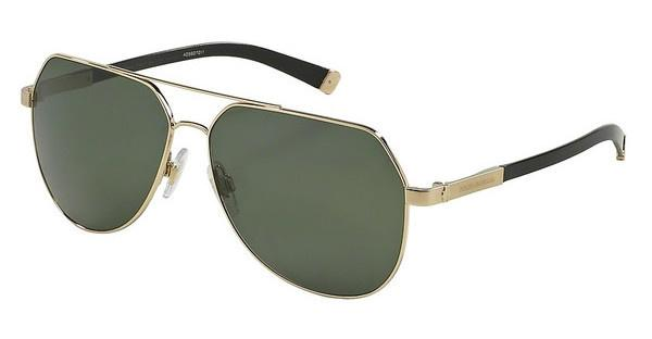 Dolce & Gabbana DG2133K 488/58 POLAR GREENPALE GOLD PLATED SAND/SHINY