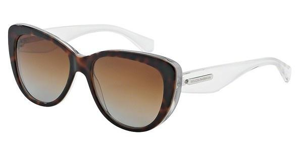 Dolce & Gabbana DG4221 2795T5 POLAR BROWN GRADIENTHAVANA/PEARL WHITE/CRYST