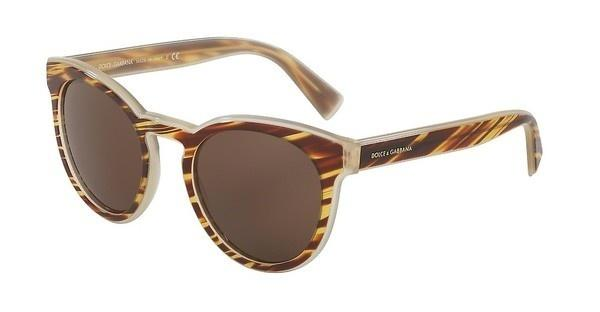 Dolce & Gabbana DG4285 305273 BROWNSTRIPED HONEY