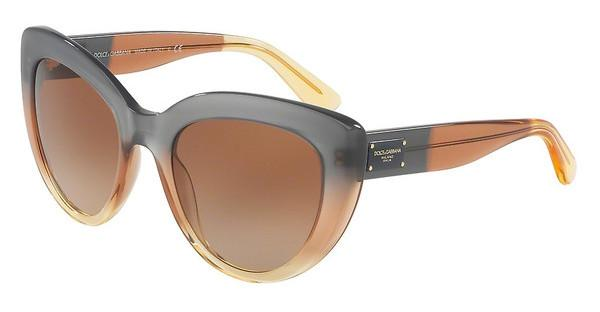 Dolce & Gabbana DG4287 307413 BROWN GRADIENTGRAD BROWN/CARAMEL/YELLOW