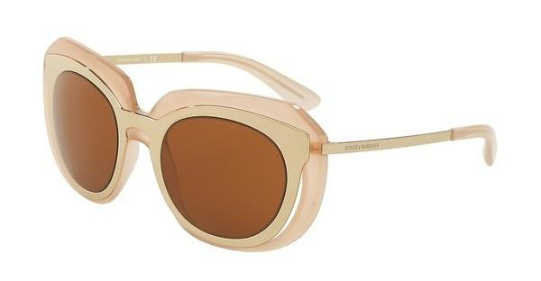 Dolce & Gabbana DG6104 304173 BROWNPALE GOLD/OPAL POWDER