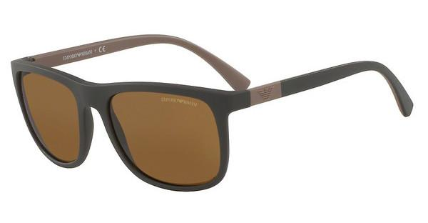 Emporio Armani EA4079 550983 POLAR BROWNMATTE BROWN