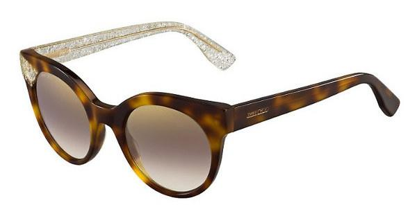Jimmy Choo MIRTA/S Q3Y/NH BROWN MS GLDHV GDGLTT